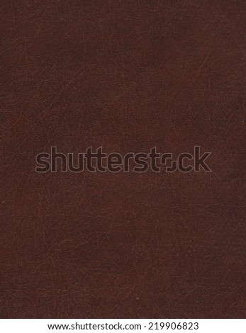 Brown leather texture, background
