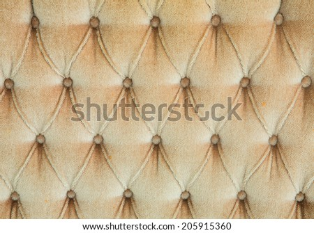 brown leather texture from sofa - stock photo