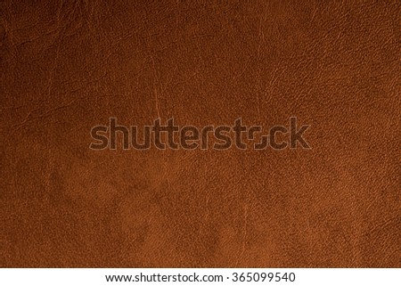 Brown leather texture surface - stock photo
