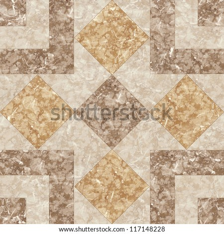 Brown Marble Mosaic texture. (High.Res.) - stock photo