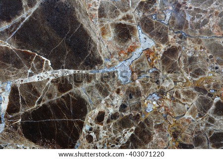 Brown marble pattern (Emperador Light) texture for background and design.