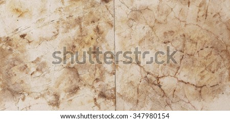 Brown marble texture background (High resolution scan) - stock photo