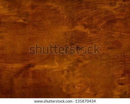 brown natural wood background - stock photo