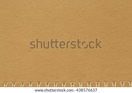 brown notebook paper background,old notebook