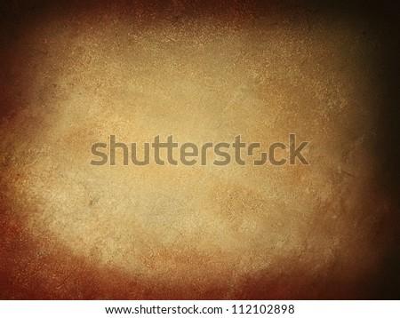Brown old grunge antique concrete texture - stock photo