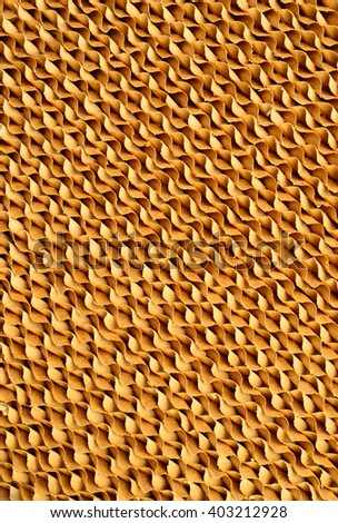Brown paper air filter for background