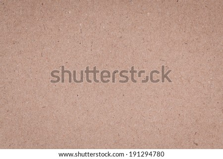 Brown paper card texture, paper cardboard background - stock photo