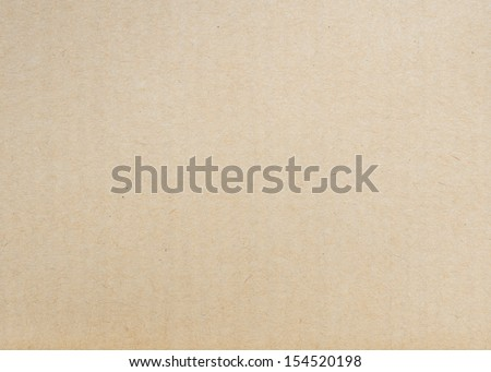 Brown paper cardboard texture - stock photo