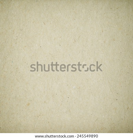 Brown Paper or Cardboard Texture - stock photo
