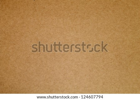 Brown paper - Paper texture - stock photo