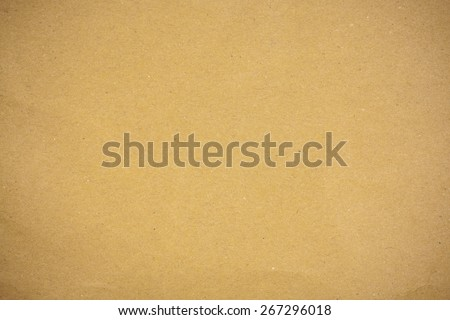 Brown paper recycled textured. - stock photo