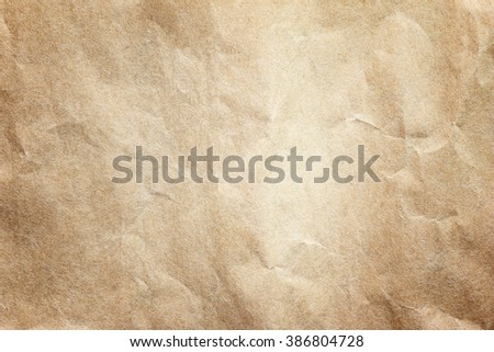 Brown paper texture for artwork / paper background