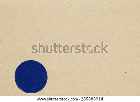 brown paper texture, high detailed with stains with circle - stock photo