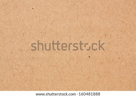 brown paper texture, recycled - stock photo