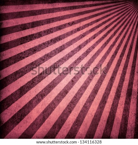 brown pink background retro striped layout, sunburst abstract background texture pattern, vintage grunge background sun ray design old faded background retro antique paper, striped wallpaper pattern - stock photo