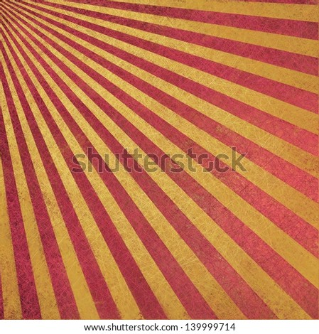 brown pink background retro striped layout, sunburst abstract background texture pattern, vintage grunge background sun ray design old faded summer background with light tan beige color paper brochure - stock photo