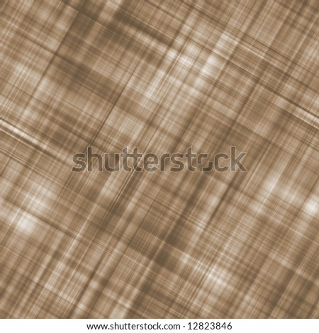 Brown Plaid Background - stock photo