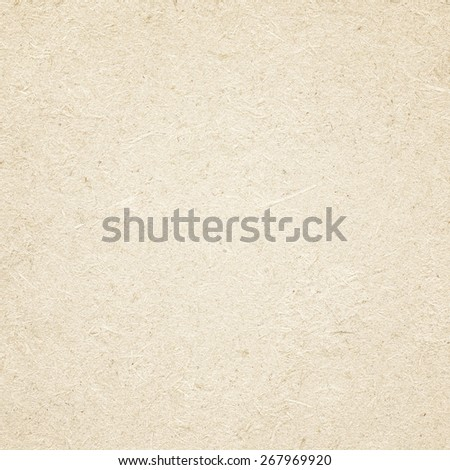 Brown recycled paper texture made from wood - stock photo