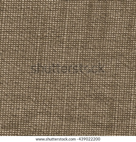 brown sackcloth texture as background