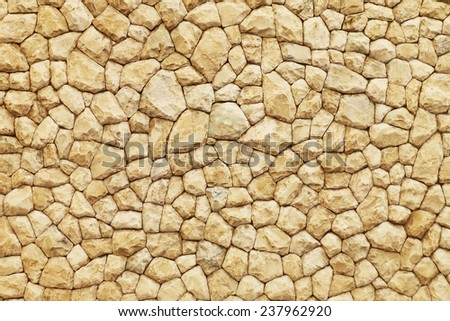Brown stone wall texture.