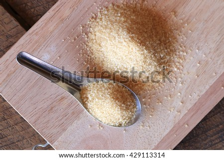 brown sugar cane - stock photo