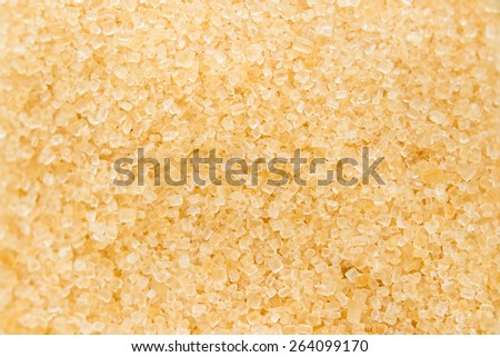 Brown sugar close up background.
