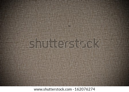 Brown synthetic or plastic roller blind background or texture