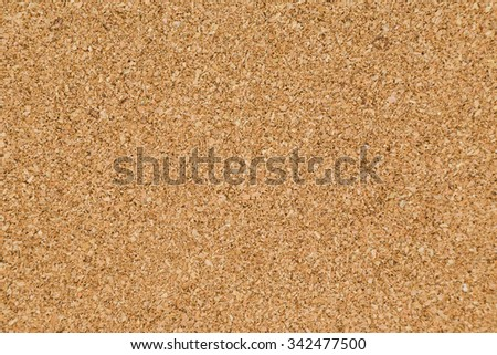 brown textured cork board with space - stock photo