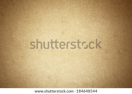 Brown Textured Paper Background./ Brown Textured Paper Background. - stock photo