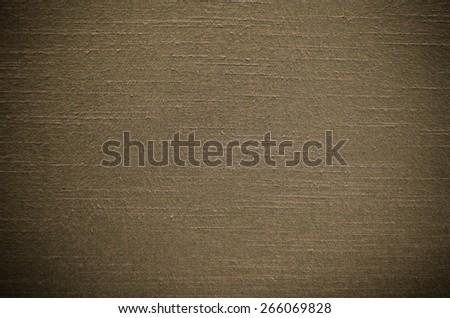 Brown Thai silk texture use as background - stock photo