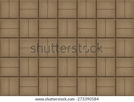 Brown Tile wall texture background