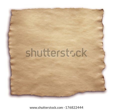 brown torn paper background