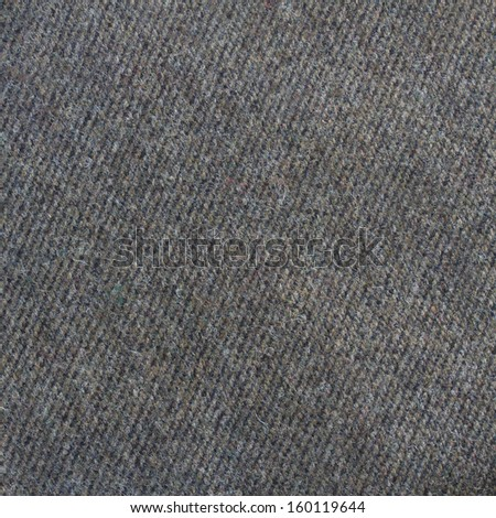 Brown tweed fabric texture, wool pattern close up - stock photo