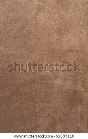 Brown velvet texture closeup. Useful as background for design-works. - stock photo