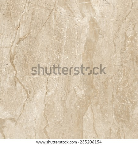 brown vertical crack marble - stock photo