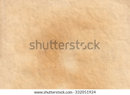 Brown vintage paper background. old paper texture  - stock photo