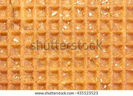 brown waffle texture pattern, holland waffle
