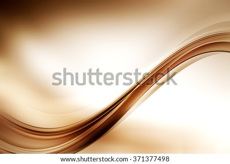 Brown Waves Composition