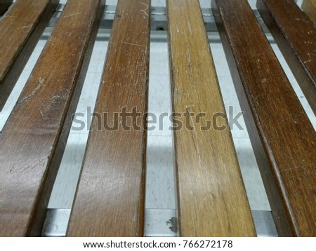 Brown wood chair,Wood slat chair,Wooden chair
