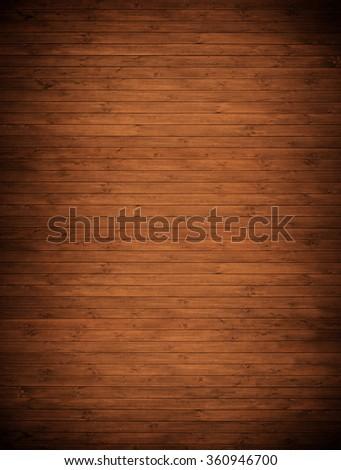 brown wood planks. - stock photo