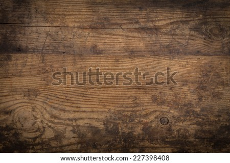 Brown wood texture. Abstract background, empty template - stock photo