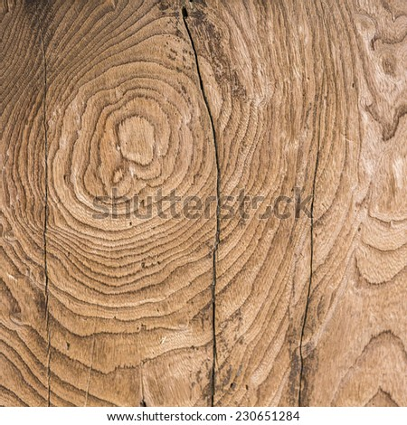 Brown wood texture and background. - stock photo