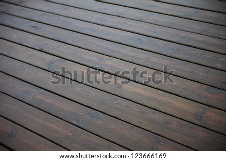 brown wood texture in rain with natural patterns