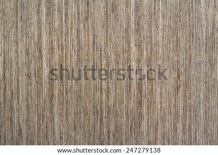 Brown wooden decor texture background - stock photo