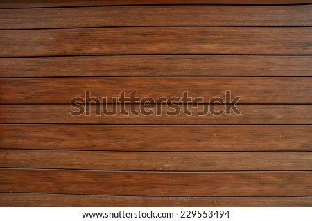 Brown wooden plank for web background. - stock photo