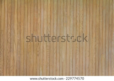Brown Wooden Wall Texture Background - stock photo