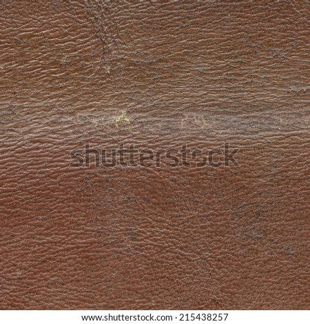 brown worn leather texture closeup