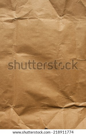 Brown wrapping paper texture.