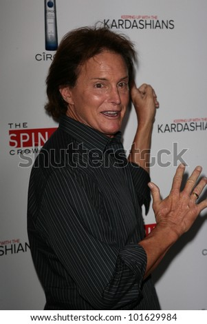 Bruce Jenner at the  'Keeping Up with the Kardashians/The Spin Crowd' Series Party, Trousdale, West Hollywood, CA. 08-19-10