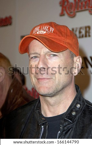 Bruce Willis at SIN CITY Premiere, Mann's National Theatre in Westwood, Los Angeles, CA, March 28, 2005 - stock photo